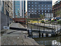 SJ8498 : Rochdale Canal, Dale Street Lock by David Dixon