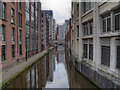 SJ8497 : Rochdale Canal, Central Manchester by David Dixon