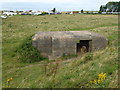 TF6636 : Pillbox near Heacham Harbour by Richard Humphrey