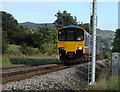 SK2281 : Train near Hathersage by Andrew Hill