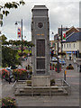 ST1586 : The War Memorial, Caerphilly by David Dixon