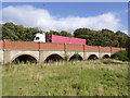 SK7855 : Smeaton's arches, near Muskham Bridge  by Alan Murray-Rust