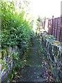 SE1125 : Footpath - Leeds Road by Betty Longbottom