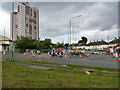 SK5535 : Farnborough Road/Southchurch Drive (north) junction  by Alan Murray-Rust