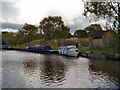 SJ9483 : Victoria Pit Moorings, Macclesfield Canal by David Dixon