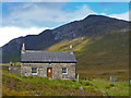 NG9447 : Coire Fionnaraich Bothy by John Allan