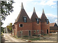 TQ7638 : Hazelden Farm Oast, Marden Road, Colliers Green by Oast House Archive