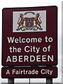 NJ9203 : Welcome to the City of ABERDEEN by Colin Smith