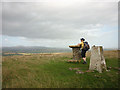 NO2450 : Studying the view on Hill of Alyth by Karl and Ali