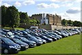 SK2570 : End of Summer - cars parked at Chatsworth by Neil Theasby