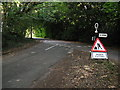 SU8407 : Recently repaired and painted sign at the junction of West Stoke Road and Huntersrace Lane by Dave Spicer