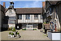 TQ5853 : Courtyard in Ightham Mote by Philip Halling
