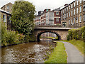 SJ9984 : Peak Forest Canal, Bridge#28, New Mills by David Dixon