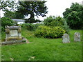 SU3146 : St Michael &amp; All Angels, Weyhill: churchyard (F) by Basher Eyre
