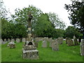 SU3146 : St Michael &amp; All Angels, Weyhill: churchyard (J) by Basher Eyre