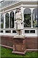 SJ3787 : Linnaeus Statue, Sefton Park, Liverpool by El Pollock
