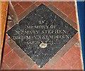 TL3855 : St Mary, Comberton - Ledger slab by John Salmon