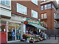 TQ3170 : Post Office and fruit and vegetable shop, Crown Point, Upper Norwood by Robin Drayton