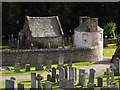 NO7095 : Banchory St Ternan Kirkyard by Colin Smith