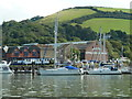 SX8753 : Higher Noss Point - former shipyard by Chris Allen
