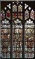 TL3949 : All Saints, Barrington - Stained glass window by John Salmon