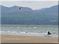 SH4063 : Watersports off Newborough Beach by Oliver Dixon