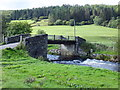 SH7951 : Bridge across Afon Machno by Richard Hoare