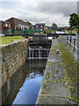 SD8700 : Rochdale Canal, Pinfold (aka Madhouse) Lock by David Dixon