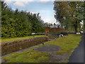 SJ8699 : Slater's Higher Lock, Rochdale Canal by David Dixon