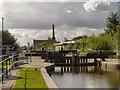 SJ8699 : Rochdale Canal, Lock#77 by David Dixon