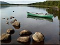 NH9709 : Loch Morlich by Walter Baxter