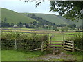 SK1682 : Stile on footpath to Castleton by Andrew Hill