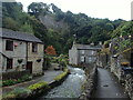 SK1482 : Village scene, Castleton by Andrew Hill