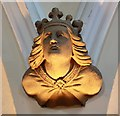 TQ5188 : St Edward the Confessor, Market Place, Romford - Corbel by John Salmon