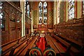 TQ3975 : St Margaret, Brandram Road - South chapel by John Salmon