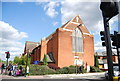 TQ3873 : St Andrew's The Apostle, Catford by Nigel Chadwick