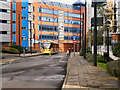 SJ8196 : Metrolink, Exchange Quay by David Dixon