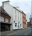 SN7634 : Barclays Bank, Llandovery by John Grayson