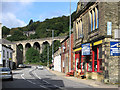SD9225 : Lydgate - viaduct from Burnley Road by Dave Bevis