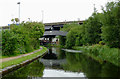 SP0989 : Grand Union Canal approaching Salford Junction, Birmingham by Roger  Kidd