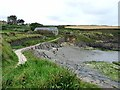 SN0439 : Pembrokeshire Coast Path at Parrog by Oliver Dixon