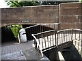 SO8685 : Footbridge at the tail of lock 18 by Christine Johnstone