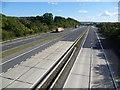 TQ5367 : M20 from the Button Street bridge : Week 40