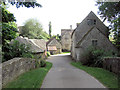 SP1206 : Bibury Mill and attendant buildings by Stuart Logan