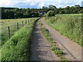 SK7119 : Track and byway near Asfordby Valley by Mat Fascione