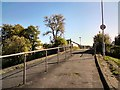 SJ9392 : Footbridge from Hollyhouse Drive by Gerald England