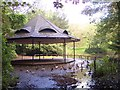 SD8204 : The soggy bandstand in Heaton Park by Raymond Knapman