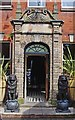 SO8555 : Bushwackers (2), entrance doorway from The Avenue, Worcester by P L Chadwick