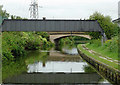 SP1190 : Canal bridges at Birches Green, Birmingham by Roger  Kidd