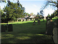 SK7708 : In Owston churchyard by John Sutton